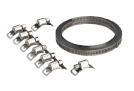"Hose Clamp Set Self-Build 12.7mm (1/2"")"